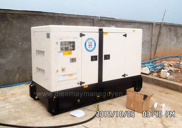 máy phát điện Cummins tại Campuchia