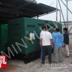 Máy phát điện có vỏ Cummins 375kva tại Campuchia ngày 02/02