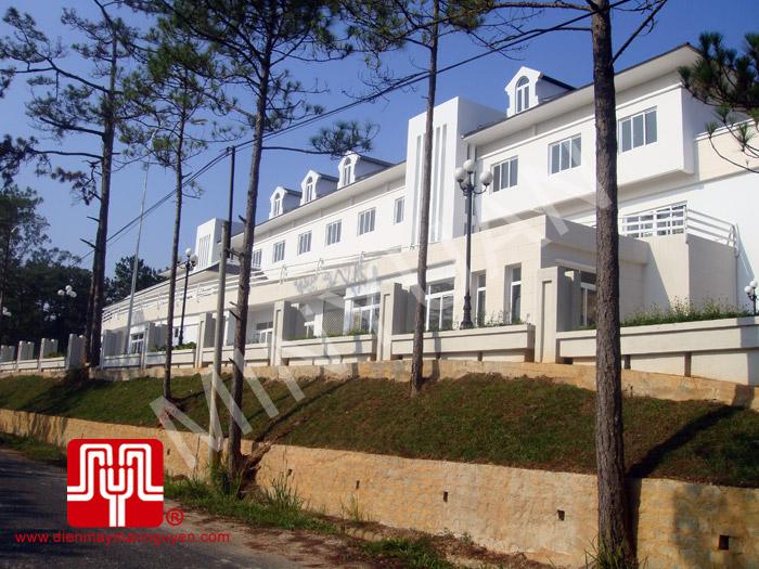 Máy phát điện có vỏ Weichai 87kva
